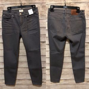 NWT! J. Crew size 28 Toothpick Jeans